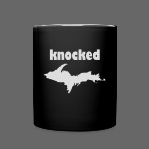 Knocked U.P. Bag - Full Color Mug