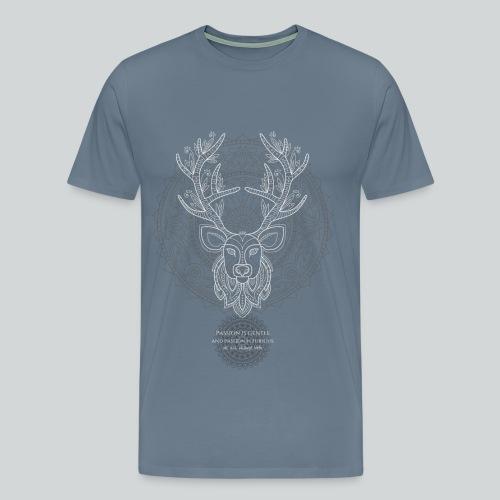 Buck Quote - Men's Premium T-Shirt
