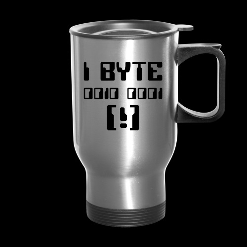 I Byte! - Travel Mug