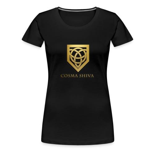 Cosma Shiva - T-shirt | Big Logo (Female) - Women's Premium T-Shirt