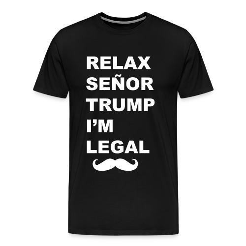 Relax Trump Tee - Men's Premium T-Shirt