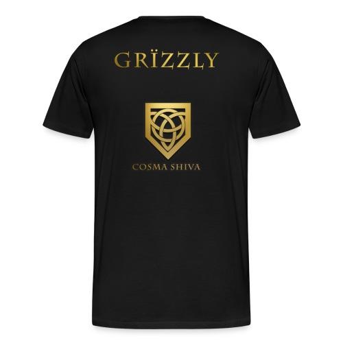 Cosma Shiva - T-Shirt - Grïzzly Jersey  - Men's Premium T-Shirt