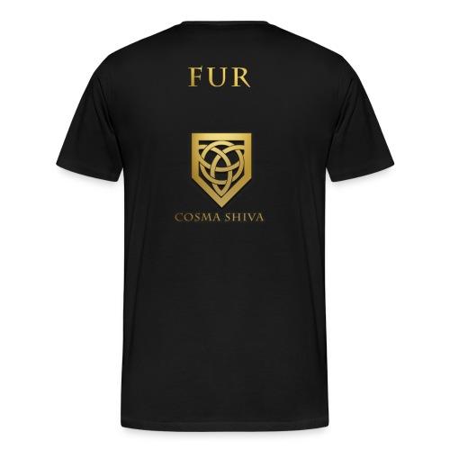 Cosma Shiva - T-Shirt - Fur Jersey  - Men's Premium T-Shirt