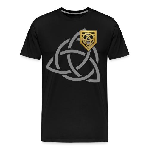 Cosma Shiva - T-shirt | Small/Big Logo (Male) - Men's Premium T-Shirt