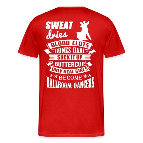 Red 'sweat' shirt - Men's Premium T-Shirt