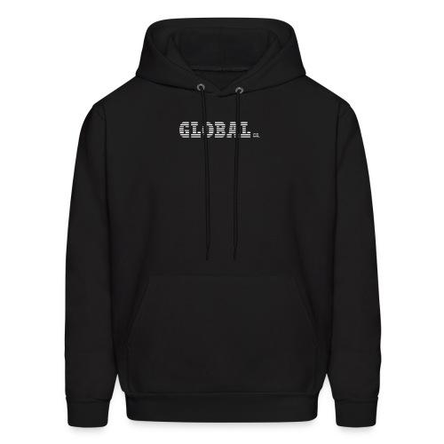 GlobalCo   Hoodie (Black) - Men's Hoodie