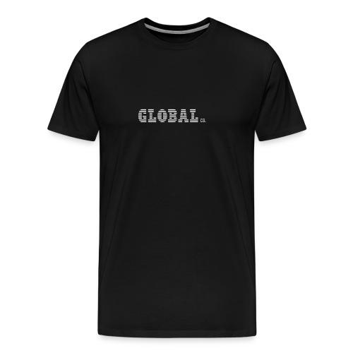 Global Co   T-Shirt (Black) - Men's Premium T-Shirt