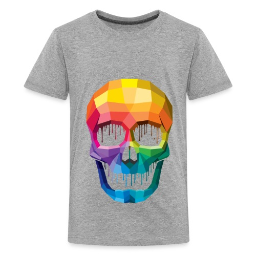 Kid's color skull - Kids' Premium T-Shirt