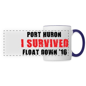 Port Huron Float Down Mug - Panoramic Mug