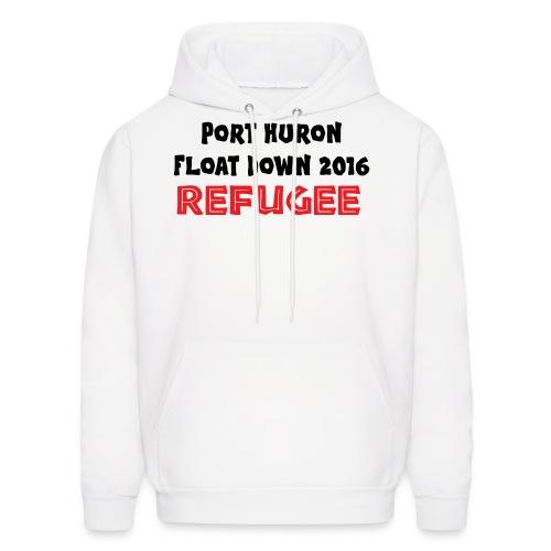 Port Huron Float Down - Refugee - Men's Hoodie