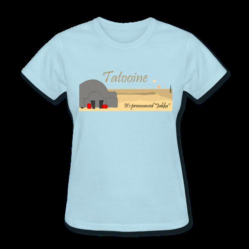Tatooine Jakku - Women's T-Shirt
