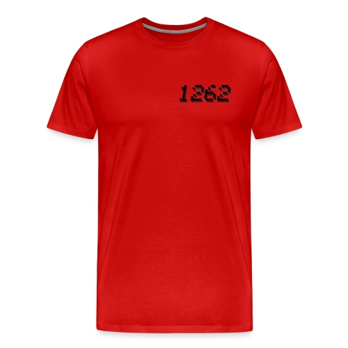1262 Red Tee - Men's Premium T-Shirt