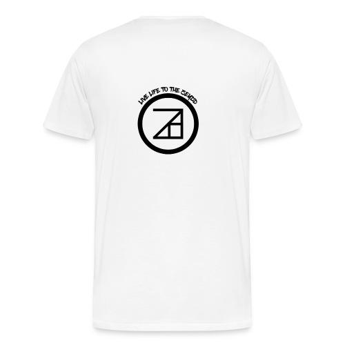 Live Life To The Zeydd T-Shirt - Men's Premium T-Shirt