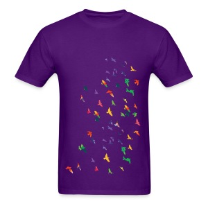 Colorful birds Men's T-Shirt - Men's T-Shirt