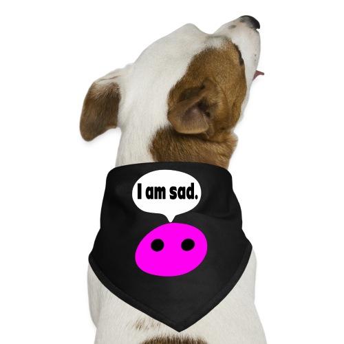 I am sad Dog Bandana. - Dog Bandana