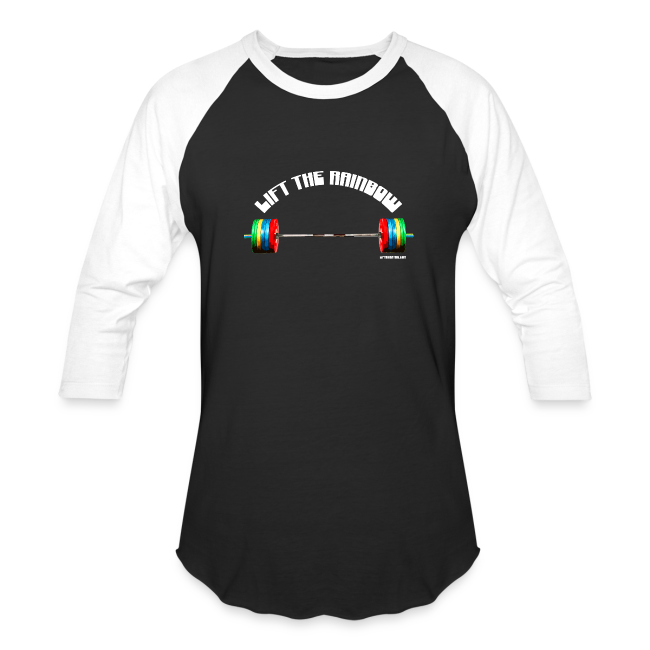 Lift The Rainbow (Baseball Tee)