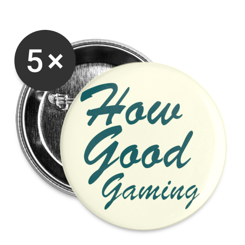 HowGoodGaming Button - Large Buttons