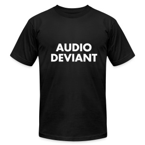 AUDIO DEVIANT - Men's T-Shirt by American Apparel