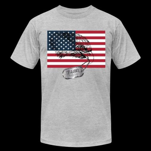 American Eagle Head - Men's Fine Jersey T-Shirt
