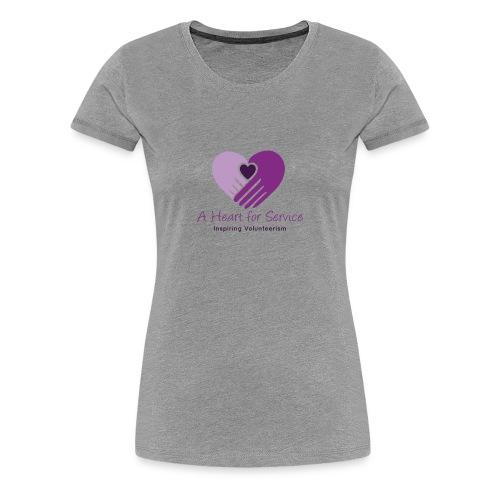 A Heart For Service Women's V-neck - Women's Premium T-Shirt