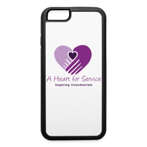 A Heart For Service iPhone 6/6s Case - iPhone 6/6s Rubber Case