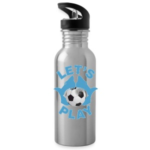 Let's play soccer Sportswear - Water Bottle