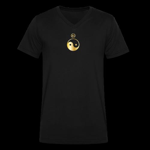 SKF: MICRO-ORBIT - Men's V-Neck T-Shirt by Canvas