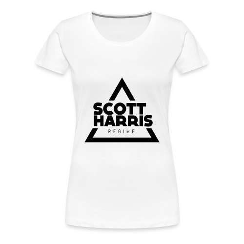Women's T-Shirt Black Logo - Women's Premium T-Shirt