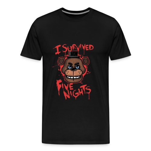 FNAF Survival T-Shirt - Men's Premium T-Shirt