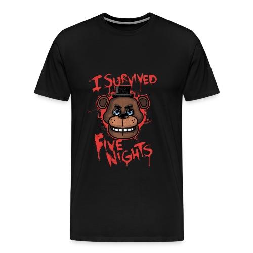 FNAF Survival T-Shirt - Men's Premium T-Shirt