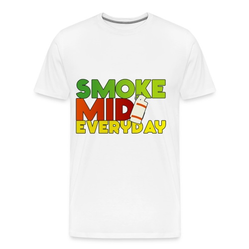Smoke Mid Ev'ryDay T-Shirt - Men's Premium T-Shirt