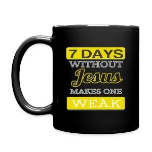 7 Days Without Jesus (Mug) - Full Color Mug