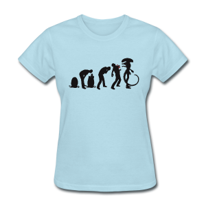 Alien Evolution Women's T-Shirt - Women's T-Shirt