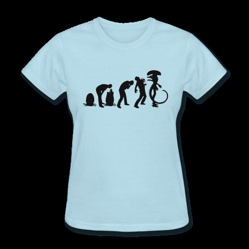 Alien Evolution Women's T-Shirt - Women's T-Shirt