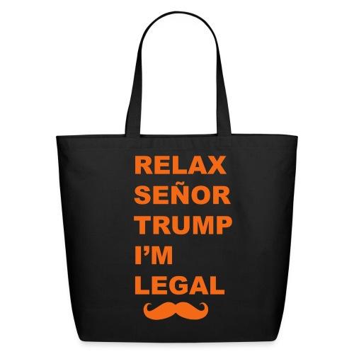 Relax Trump Tote - Eco-Friendly Cotton Tote