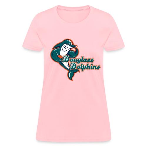 Douglass Dolphins 2 (Women) - Women's T-Shirt