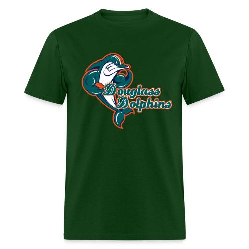 Douglass Dolphins 2 - Men's T-Shirt