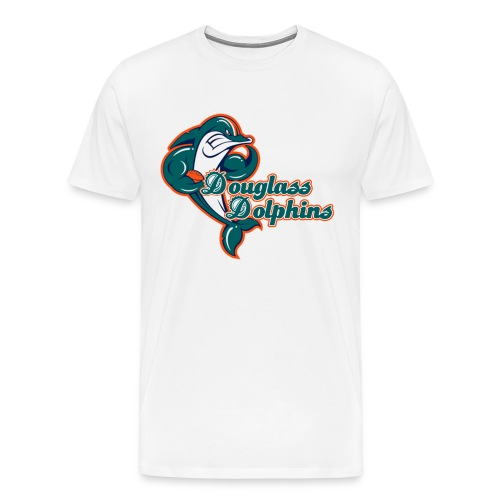 Douglass Dolphins 2 (Big Man) - Men's Premium T-Shirt