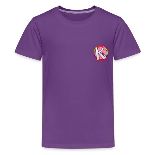 Kashvi`s Artistic World Premium Kids T-Shirt - Kids' Premium T-Shirt