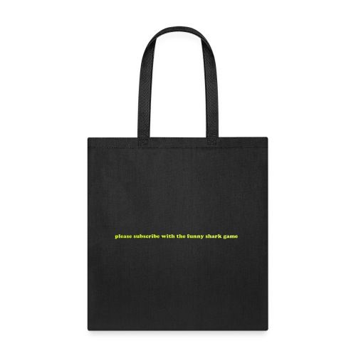 the funny shark game bag edge  - Tote Bag