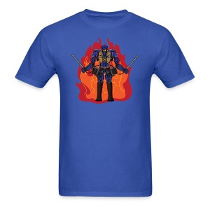 Titan Attack on the Pacific Rim - Men's T-Shirt