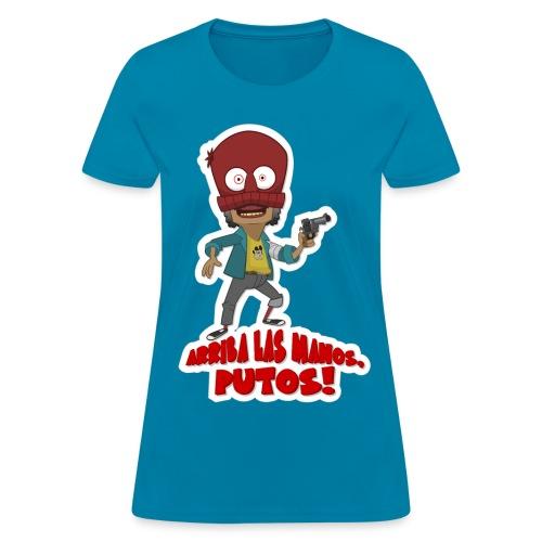 Peluzin - Arriba las Manos! - Women's T-Shirt