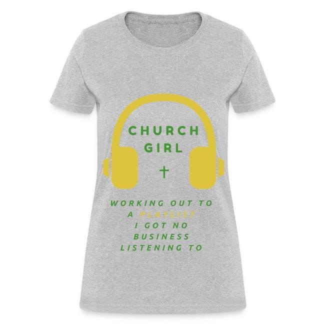 Church Girl PlayList