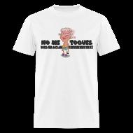T-Shirts ~ Men's T-Shirt ~ Irmita - No Me Toques!