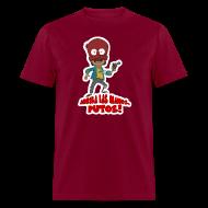 T-Shirts ~ Men's T-Shirt ~ Peluzin - Arriba las Manos!