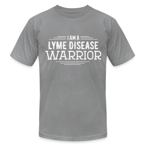 LYME DISEASE WARRIOR TOP - Men's T-Shirt by American Apparel