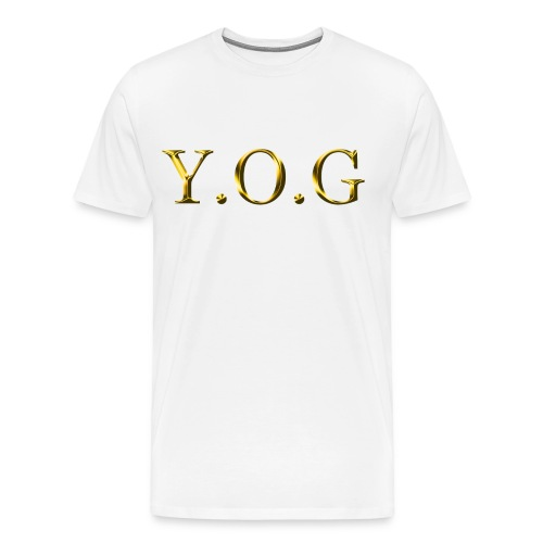 Y.O.G (Original) - Men's Premium T-Shirt