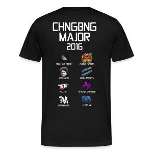 Chang Bang Major 2016 - 8 Major Teams  - Men's Premium T-Shirt
