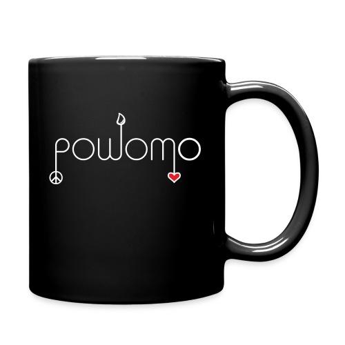 powomo red heart coffee mug - Full Color Mug