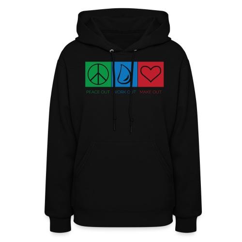 hoodie with powomo logo - Women's Hoodie